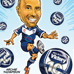FOOTBALLER CARICATURE